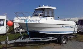 Quicksilver 500 Pilothouse fishing boat
