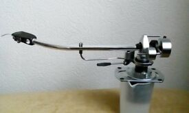 SME 3009 TRANSCRIPTION PICK UP ARM, VERY GOOD CONDITION WITH SHURE V15 CARTRIDGE AND STYLUS