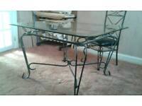 Dinning Table and chair's and coffee table and side table