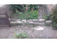 50p - Rockery and wall Stones