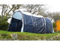Tube type tent 6 berth Gelert LOKON VARIO 6 unused, bedroom enclosures do not fit properly