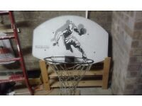 ProAction basketball net wall mounted