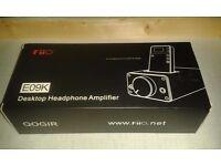 FiiO E09K Desktop Headphone Amp (This is also a dock for the E17)