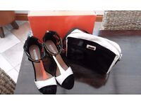 Size 8 Taffy Disco Shoes & matching shoulder bag