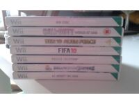 Wii games X7