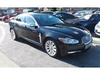 2008/57 JAGUAR XF 2.7 TD PREMIUM LUXURY 4 DR,AUTO BLACK, FULL LEATHER, HIGH SPEC,WITH MANY EXTRAS