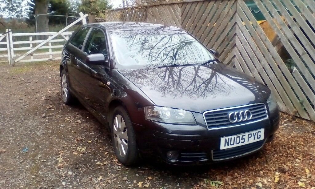 Audi A3 1.9 TDI 3 door manual 2005. One previous owner. MOT to 25/07/18.