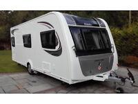 2017 eldiss avante 586 6 birth touring caravan single axel