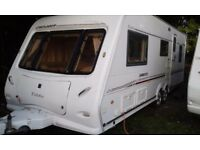Caravan Elddis Crusader Sirocco 2005 very nice inside and out quick sale required as paying to store