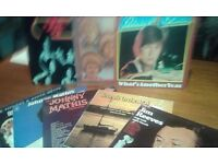 Splendid collection of LP's -Various singers, music genres, English.