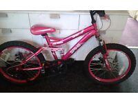 """Spike 16"""" girls bike"""