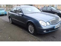 MERCEDES E320 AUTO (53 REG) FSH, FULLY LOADED TOP SPEC, MINT CONDITION IN&OUT PX WELCOME