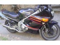 Kawasaki Ninja K Reg for quick sale. Immaculate condition, new tyres & brakes, long MOT.