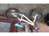 Girl's 18 inch halfords bike