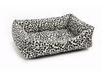 Chilli Dog Dalmatian Sofa Dog Bed | Brand New
