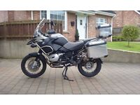2008 BMW 1200 GS Adventure Two tone Grey and Black 35887 miles