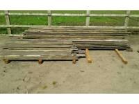 Timber hardwood planking x 400 lenghts.