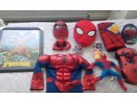 Spiderman bundle / job lot