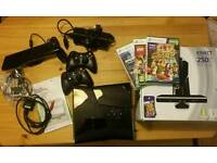 Xbox 360 Kinect Special Edition 250 GB in black