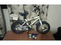"""Child Apollo police bike 14"""""""