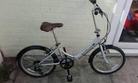 Factory return folding bike