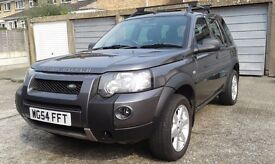 Freelander 1 TD4 HSE 54 plate. Very good condition and low mileage. We are the 2nd owner from new.