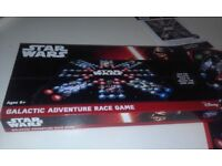 STARWARS BOARDGAME - IMPORT - GALACTIC ADVENTURE RACE GAME - EXC. COND