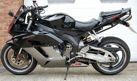2004 HONDA CBR 1000 RR-4 BLACK FIREBLADE 998