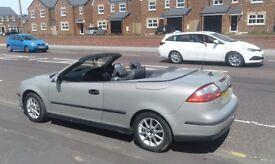 Saab convertible. ...