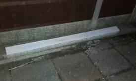 Concrete lintel 2.2m