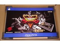 STREET FIGHTER V ARCADE STICK FIGHTSTICK TE S+ PS4 PS3 BRAND NEW SEALED