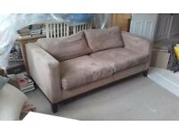 Quality Sofa and arm chair - £200 ONO - quick sale required friday 23rd sept!