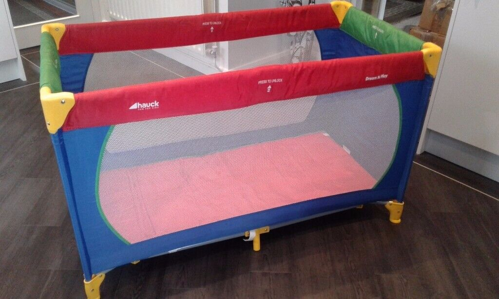 promo code 65a7b b7059 Hauck dream and play travel cot | in Rushden, Northamptonshire | Gumtree