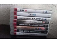 PS3 60GB Fat Model, 2 controllers, 8+ Games : Gran Turismo Need For Speed Call of Duty Playstation