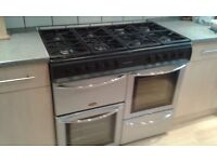 Belling Countrychef Double Oven and Hood