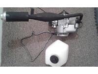 engine chain and tank mini moto