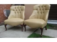PAIR OF ANTIQUE NURSERY CHAIRS