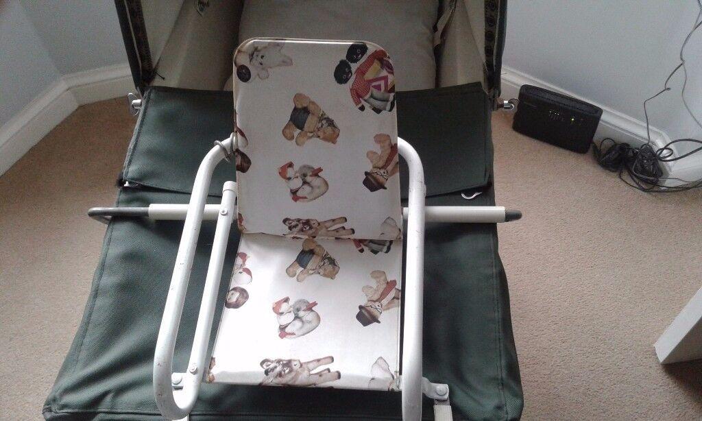 Dolls pram seat for a coachbuilt pram & Dolls pram seat for a coachbuilt pram | in Solihull West Midlands ...