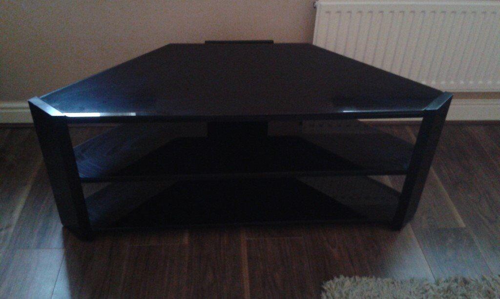 black corner 50in tv stand - 50in Tv
