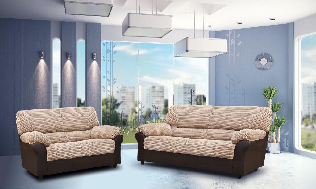 Beau *BRAND NEW* Candy Sofas/ 3+2 Seater Sofa Set Or Corner Sofa