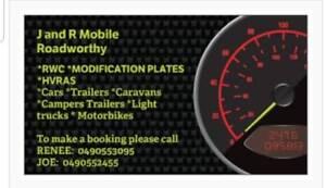 Mobile Roadworthy