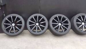 SECONDHAND 22 inch Wheels to suit Cayenne, Q7 and Touareg Preston Darebin Area Preview