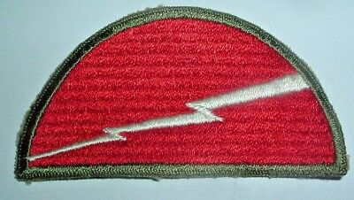 AMERICAN PATCHES-ORIGINAL WW2 78th INFANTRY DIVISION SNOWY RIBBED BACK