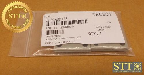 02191kj01+15 Telect Junction Plate 6ct & Hardware Kit New