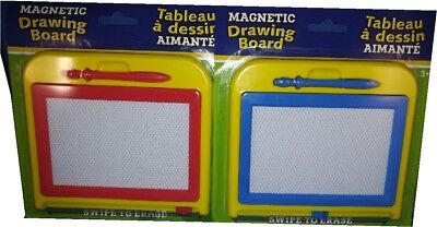 2 Kids Drawing Board Magnetic Writing Sketch Pads Erasable  for sale  Shipping to India
