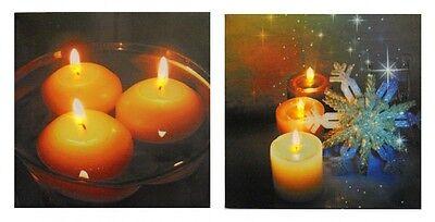 bild Bild Leinwand Weihnachten Kerzen (Weihnachten Wand Kulissen)