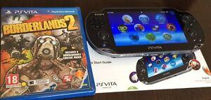 PSP 2014 VITA plus BORDERLANDS 2 ( good condition )