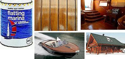 Flatting marina vernice trasparente finitura lucida per legnonatanti barche