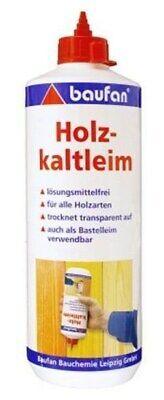 Lösung Holz (Baufan Holz Kaltleim 1kg Holzleim lösungsmittelfrei für alle Holzarten)