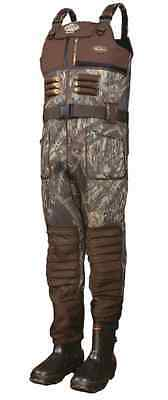 Drake Waterfowl LST EQWader 2.0 Waders MENS STOUT Size 10 Color Shadow Branch